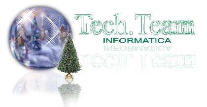 Buon Natale da Tech.Team Informatica